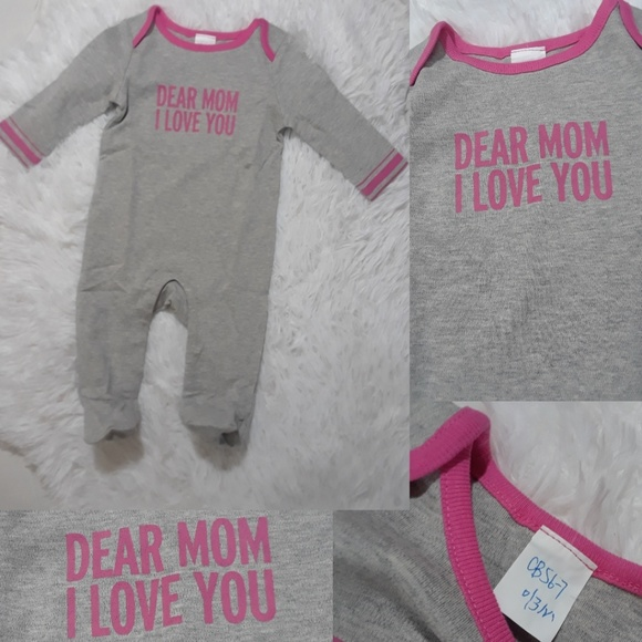 Other - Dear Mom I Love You Baby One Piece- 0-3Mos